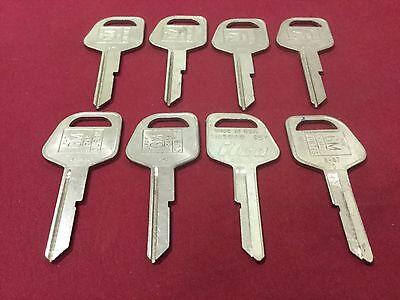 Gm By Curtis B67 Key Blanks Set Of 8 - Locksmith
