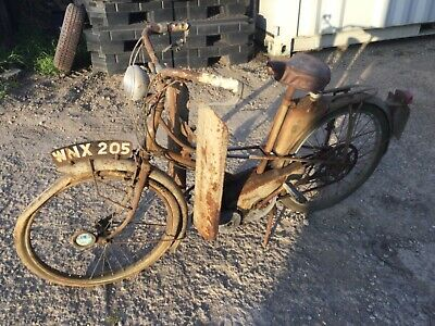Motobecane Mobylette 49cc moped 1950s a lovely old garage fined see Pictures