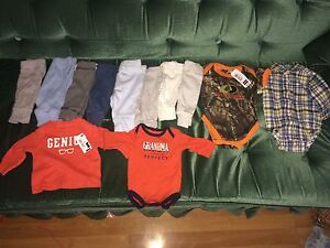 NewBorn boy clothing lot