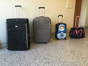 EXTRA LARGE and CABIN luggages: $9-$14