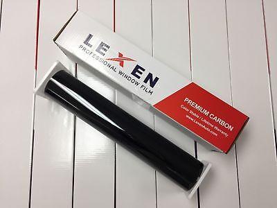 "Lexen 2Ply Economic Carbon 20"" X 100FT Roll Window Tint Film Car Dark Shade 15%"