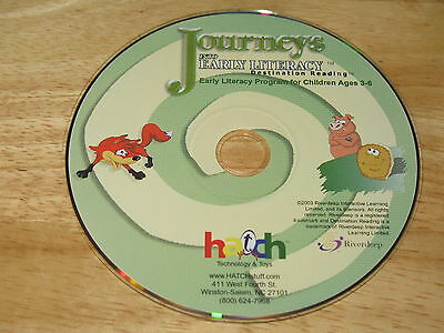 - Journeys Into Early Literacy Destination Reading Ages 3-6 PC CD-ROM Riverdeep 03