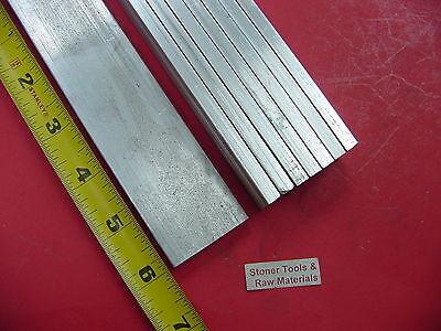 8 Pieces 14 X 1-12 Aluminum 6061 Flat Bar 6 Long T6511 New Mill Stock .250
