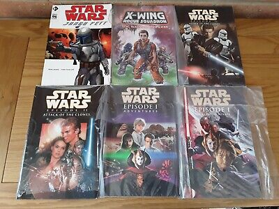 Job Lot Of 6 Star Wars Graphic Novels / Comics  - Titan Books - New / Sealed