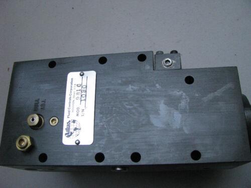 ATLAS FLUID CONTROLS  PART #  981C  FLUID CONTROLLER