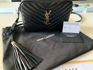 2 month old YSL Lou Camera Bag(quilted leather w/bronze hardware) Waitara Hornsby Area Preview