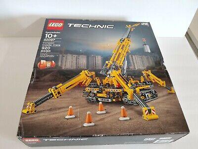 Lego Technic Set 42097 Compact Crawler Crane Construction Sealed Box New