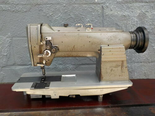 Industrial Sewing Machine Consew 332, two needle -Leather