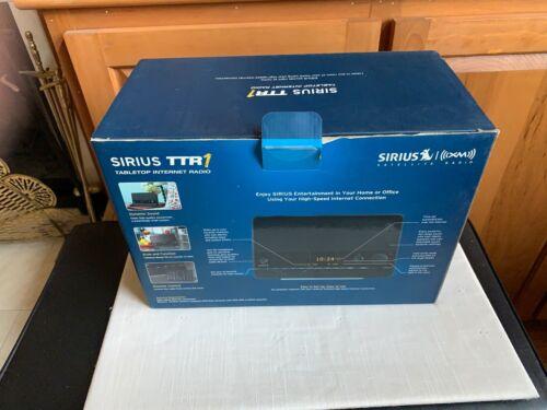 Sirius TTR1 Tabletop Internet Radio w/ Remote
