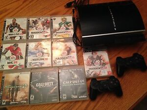PS3 GAMING MACINE AND GAMES