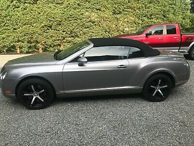 2009 Bentley Continental GT 2dr Conv 2009 Bentley Continental GTC 2dr Convertible immaculate condition