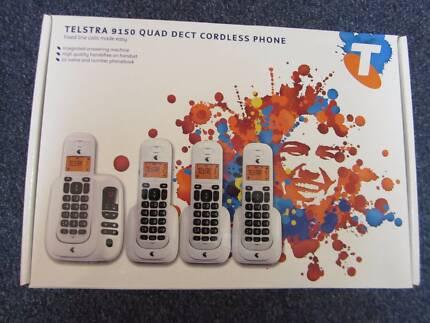 Telstra 9150 quad DECT cordless phone