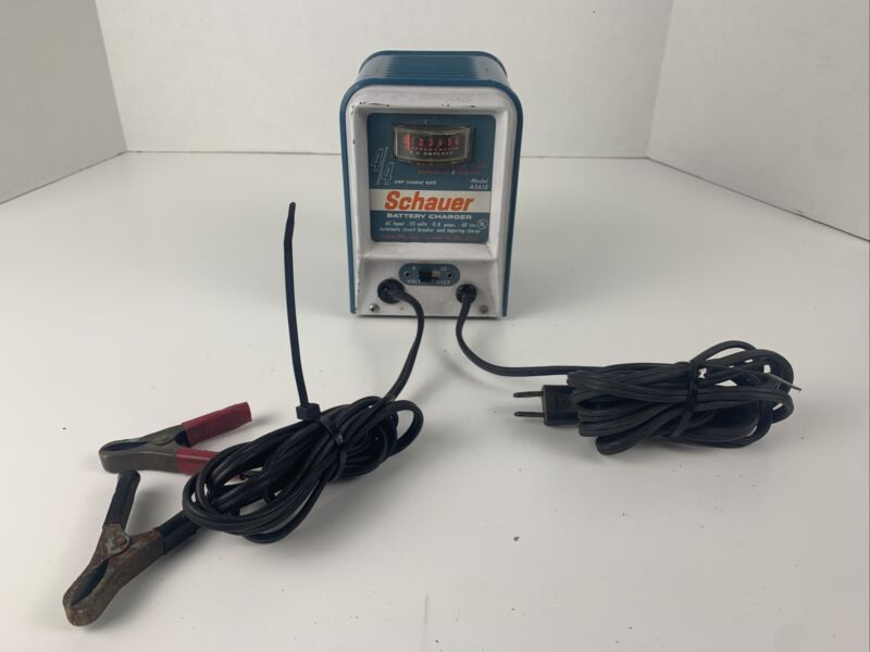 Vintage Schauer Battery Charger A5612