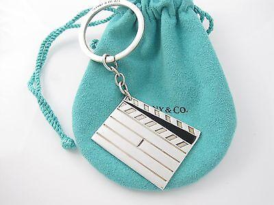 Tiffany & Co Silver Movie Clap Board Key Ring Key Chain Keychain  (Clapboard Keychain)