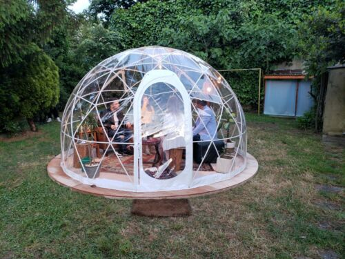 Bubble Tent Garden Igloo Plant Geodesic Dome Walk In Cover Replacement Only