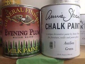 Refinishing paint : chalk paint/ milk paint