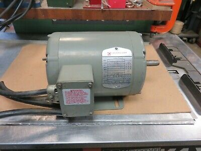 Clausing Drill Press Motor 34 Hp 1140 Rpm Clausing Drill Press Part Powermatic