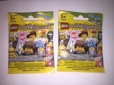 LEGO Mystery Minifigures Series 12 71007 2014 sealed random