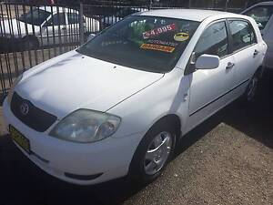 2004 Toyota Corolla Hatch AUTO    Priced reduced Islington Newcastle Area Preview
