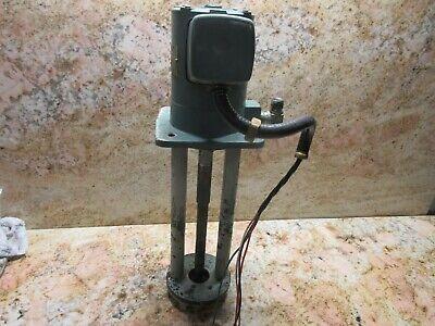 Yaskawa Coolant Pump Type Yfpc-18dj 2p Mori Seiki Sl-1 Cnc Lathe Long Neck