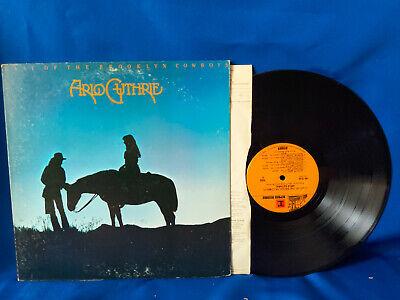 Arlo Guthrie LP Last of the Brooklyn Cowboys Reprise Gatefold 1973