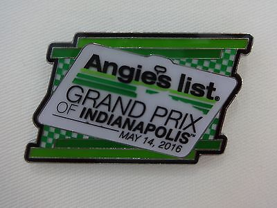 2016 Angies List Grand Prix Of Indianapolis Event Collector Lapel Pin