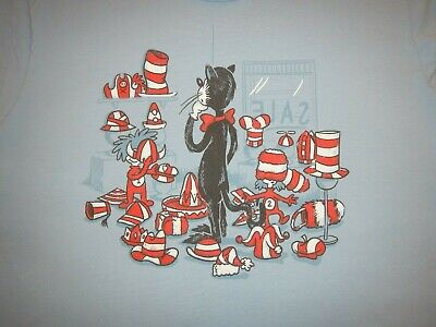 DR. SEUSS - CAT IN THE HAT - THING 1 & 2 - Men's size L - Graphic - Cat In The Hat Thing 1