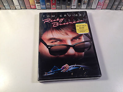 Risky Business New Widescreen Comedy Drama DVD 1983 Tom Cruise Rebecca De Mornay
