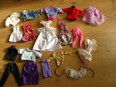 Barbie clothes and other