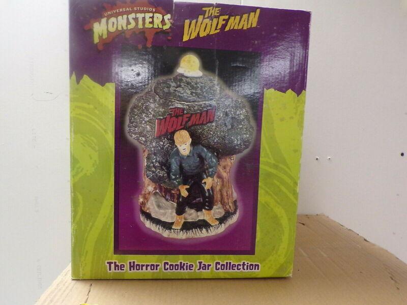 The Wolfman Cookie Jar