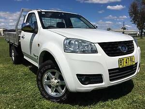 2013 Great Wall V200 4x4 Turbo Diesel Traytop Ute.Low kms Inverell Inverell Area Preview