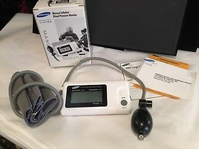 SAMSUNG HEALTHY LIVING MANUAL INFLATION BLOOD PRESSURE MONITOR NO RESERVE