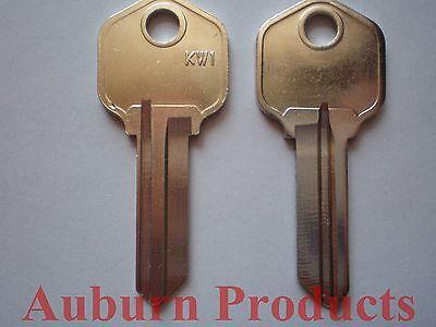 Kw1 Kwikset Key Blanks Brass Pkg. Of 12  Free Shipping