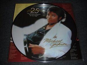 MICHAEL JACKSON - THRILLER LP pic disc 25th anniversary ltd NEW