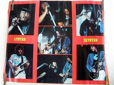 RARE LYNYRD SKYNYRD 1977 VINTAGE ORIGINAL MUSIC POSTER