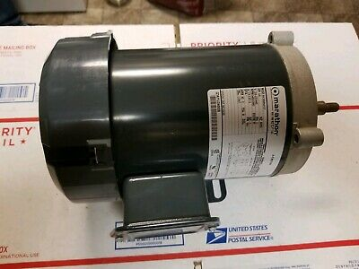 Marathon Electric 34 Hp Ac Motor 3 Phase 58 Shaft Nos