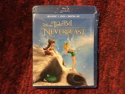 Disney : TinkerBell and the Legend of the NeverBeast : Like New Blu-ray / DvD - Tinkerbell Movie