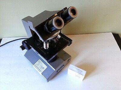 Olympus Cha Phase Binocular Microscope Wf10x4xbf10x40x Free Slides