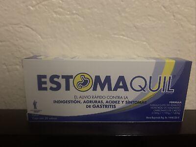 Estomaquil Nausea Heartburn Acidez 20 Ct