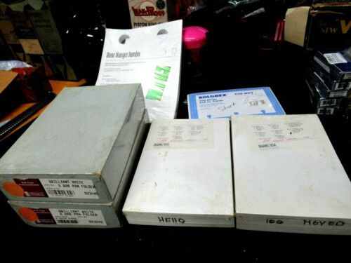 Lot of New Misc. Office Stationary, Announcement Cards, Door Hangers, Rolodex