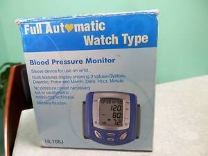 BLOOD PRESSURE MONITOR, WATCH TYPE. FULLY AUTOMATIC Whyalla Whyalla Area Preview
