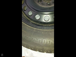 16 inch 4 SNOW TIRES & RIMS with SENSORS - fits Focus - 500 OBO