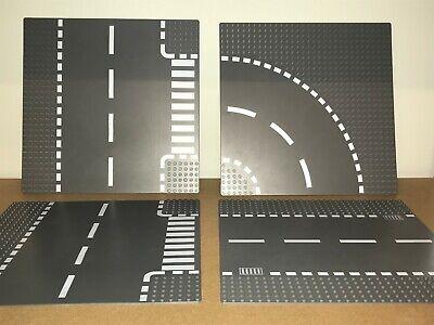 Lego Plaques routes 4x