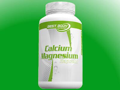 100 Kapseln Calcium ((11,27€/100g) Best Body Nutrition Calcium Magnesium 100 Kapseln)