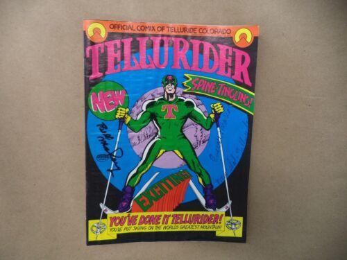 ULTRA RARE SIGNED - 1972 Tellurider Comic Book of Telluride Colorado Ski Resort