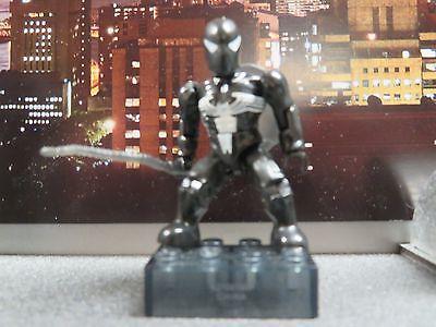 2011 Marvel Mega Bloks Series 1 Blind Bag Black Spiderman Rare Retired
