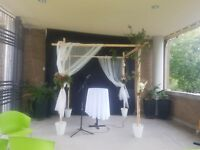 Chuppah & wedding arches for sale or for rent ($100)