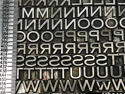 Copperplate 18 Pt. - Letterpress - Metal Type - Printers Type