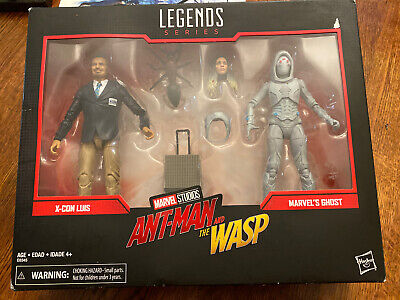 Marvel Legends Series Ant-Man & The Wasp X-Con Luis & Ghost Action Figure 2 Pack
