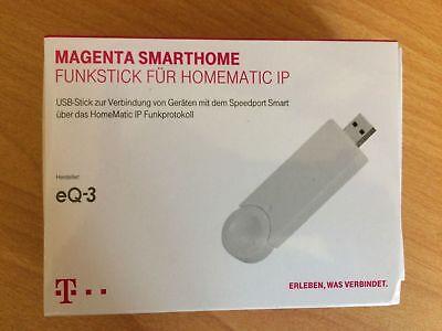 Telekom Smart Home Funkstick für Homematic IP Smart Home USB-Stick Magenta